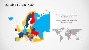 powerpoint map templates europe map template for powerpoint slidemodel