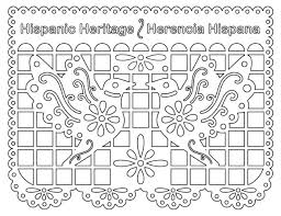 Hispanic Heritage Coloring Pages Celebrate Hispanic Heritage Month Greenville Sc County