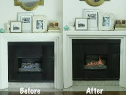 gas fireplaces can be transformed to look smell and sound like a traditional wood