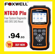 <b>Foxwell NT604 OBD2 Scanner</b> Professional Engine ABS SRS ...