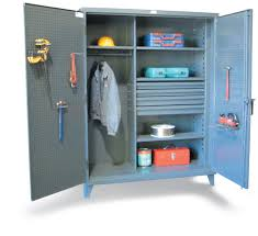 Strong Hold Cabinets Double Shift Cabinet Our Heavy Duty 12 Gauge Double Shift