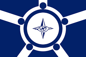 An attempt at a flag for the Five Eyes ...
