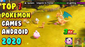 Best Pokemon Games For Android 2020 ( ENGLISH ) - YouTube