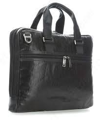 tumi alpha bravo aviano slim briefcase fine grain cow leather black 3