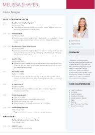 Resume For Interior Designer Design Assistant Examples Interior