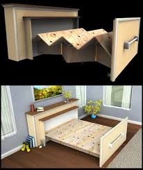 tiny living furniture. live in a tiny house build diy builtin rollout bed living furniture e