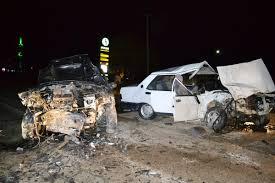 Aksaray'da trafik kazası: 10 yaralı