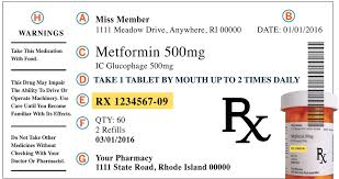 Prescription Label How Read Rhode Ahead