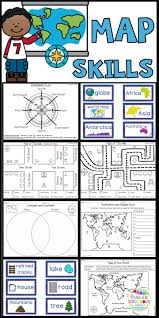 Are you teaching your students map skills  This product will help your students compare and Pinterest