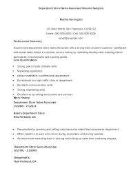 Sales Associate Resume Examples Beauteous Retail Associate Resume Sample Bezholesterol