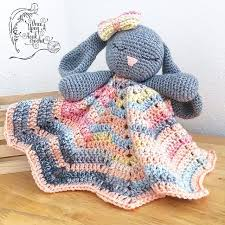 Free Crochet Lovey Pattern Magnificent Bunny Lovey Toy Free Crochet Pattern DailyCrochetIdeas