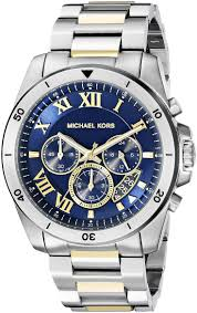 17 best images about watches tag heuer michael michael kors men s brecken two tone watch mk8437