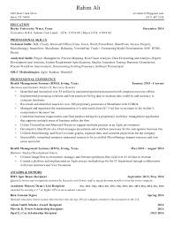 Key Qualifications In A Resume Resume Examples