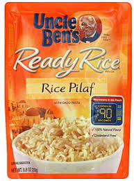uncle bens ready rice pouch