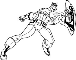 Small Picture Coloring Pages Boys Captain America Coloring Page Pictures