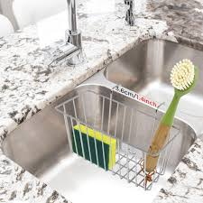 Kitchen Sink Caddy Organizer With Ring Holder Holds Your Ameci Pizza