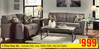 5 Piece Grey Set  Furniture Stores In Yakima Wa I48