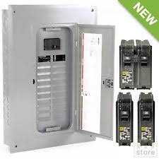 100 amp panel square d 100 amp load center main breaker panel electrical 40 circuit 20 space