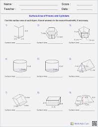 Volume Of Prisms and Cylinders Worksheet Answers – webmart.me