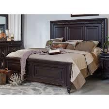 traditional furniture traditional black bedroom. 120/PANELBED6/6 Cabernet Black Traditional King Size Bed - Meritage Furniture Bedroom M