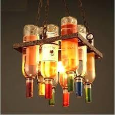 industrial lighting fixtures for home. Beautiful Industrial Lighting Fixtures For Home Bar Retro Loft Style Bottle Led Pendant