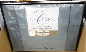 costco sheet sets. Contemporary Costco Charisma Sateen Sheet Set 6Piece King Size Costco And Sets S