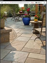 stamped concrete patio looks like large pavers home backyard ideas patterns designs textured concrete patio