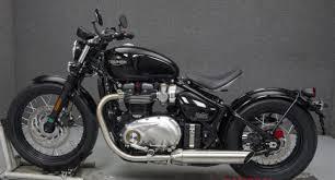 2018 triumph bonneville bobber custom cafe racer motorcycles for