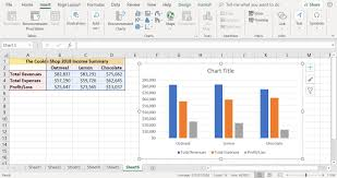 How To Insert A Bar Chart In Excel How To Create A Column Chart In Excel