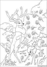Bambi 2 Kleurplaten Kleurplateneu
