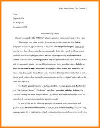 Mla Essays Sample Essay Papers Formal Essay Sample