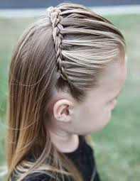 Little Girl Hair Style best front hair braided hairstyle half up half down little girls 1006 by wearticles.com