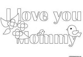 Small Picture Free Printable I Love You mom coloring pages for kids Happy