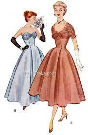 1950s Dress Patterns Classy 48s Sewing Patterns Swing And Wiggle Dresses Skirts