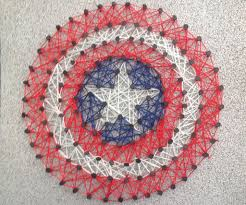 String Art Patterns Diy String Art Tutorial 10 Steps With Pictures