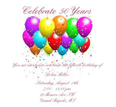 Birthday Party Invitation Card Template Free Luxury Th Birthday Party Invitation Templates Free For Birthday