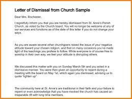 Sample Dismissal Letter 8 Dismissal Letter Example Instinctual Intelligence