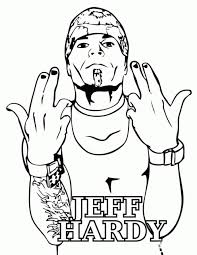 20 Free Printable Jeff Hardy Coloring Pages Everfreecoloringcom