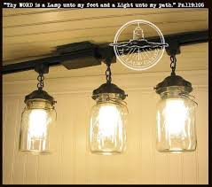 track lighting ideas. A Mason Jar TRACK LIGHT Of 3 Vintage Quarts Track LightingLighting IdeasVintage Lighting Ideas