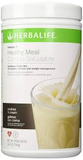 amazon herbalife f1 cookies and cream shake mix 26 4 ounces health personal care