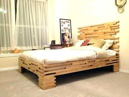 bed frame with led lights floating platform fin modern natural diy led lights under bed with magnetic floating