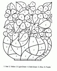 Our interactive activities are interesting and help children. Color By Number Online Free Coloring Home