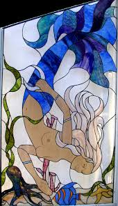 Mermaid Stained Glass Pattern Simple Inspiration Ideas