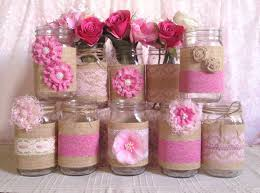 Decorating Mason Jars Best 25 Mason Jar Birthday Ideas On Pinterest Football Game