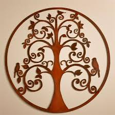 bird tree of life wall hanging