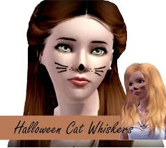monstrcookie99 s cat whiskers simple cat whiskers makeup face