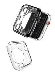 <b>Чехол</b> для <b>Apple</b> Watch Series 2/3 (2 шт. в комплекте черный ...