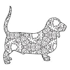 635x820 animal coloring pages free coloring pages of animals simple design. 30 Free Printable Geometric Animal Coloring Pages The Cottage Market
