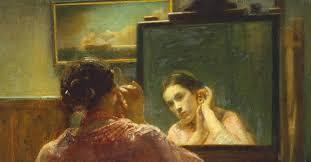 Resultado de imagem para do outro lado do espelho  NA  GULBENKIAN
