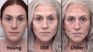old age make up demo